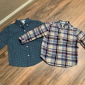 2 Janie & Jack toddler dress shirts
